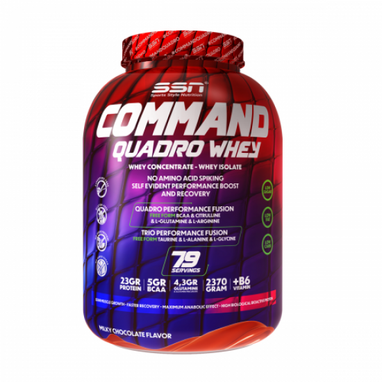 SSN Command Quadro Whey Protein 2370 Gr